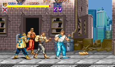 Final Fight (Japan 900112) Screenshot