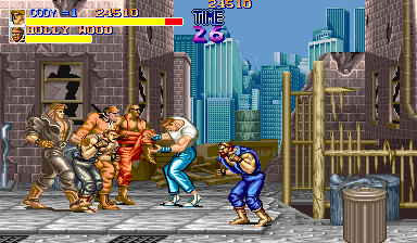 Final Fight (US) Screenshot