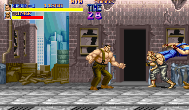 Final Fight (USA 900112) Screenshot