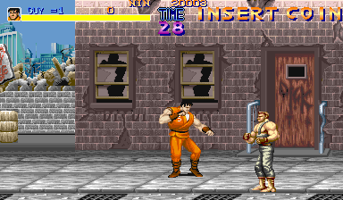 Final Fight (USA 900424) Screenshot