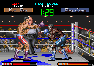 Final Blow (Japan) Screenshot