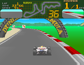 Final Lap (Rev E) Screenshot