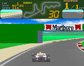 Final Lap (Rev D) Screenshot