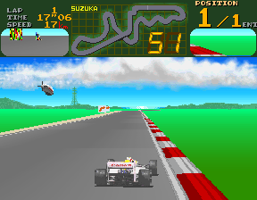 Final Lap (Japan, Rev B) Screenshot