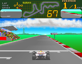 Final Lap (Japan, Rev C) Screenshot