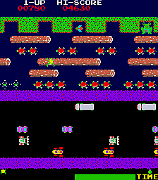 Frogger (Sega set 2) Screenshot