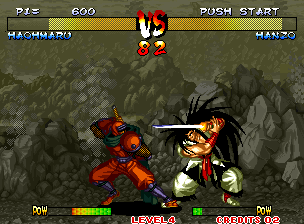 Fighters Swords (Korean Release of Samurai Shodown III) Screenshot