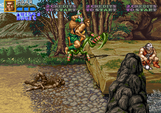 Golden Axe: The Revenge of Death Adder (US) Screenshot