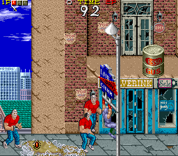 Ninja Gaiden (US) Screenshot