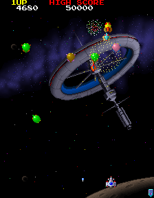Galaga '88 Screenshot