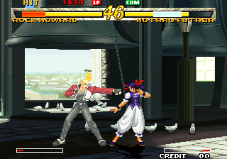 Garou: Mark of the Wolves (Set 2) Screenshot