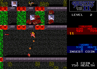 Gauntlet II (2 Players, rev 2) Screenshot