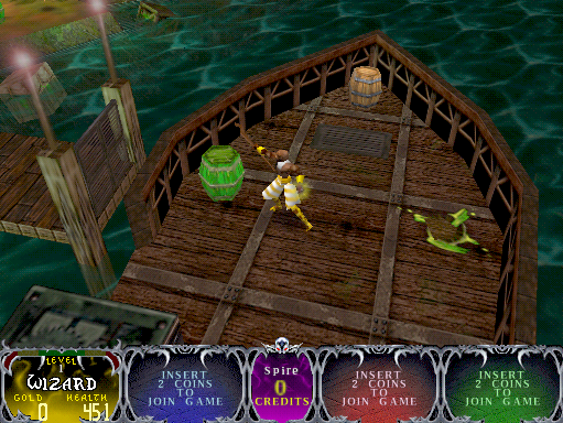 Gauntlet Dark Legacy (version DL 2.4) Screenshot