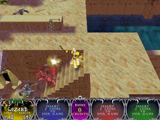 Gauntlet Legends (version 1 2) ROM < MAME ROMs | Emuparadise