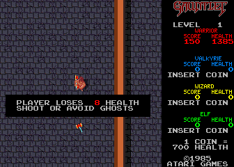 Gauntlet (rev 14) Screenshot
