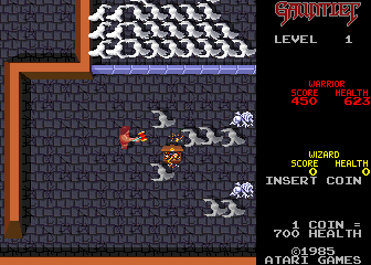 Gauntlet (2 Players, rev 6) Screenshot