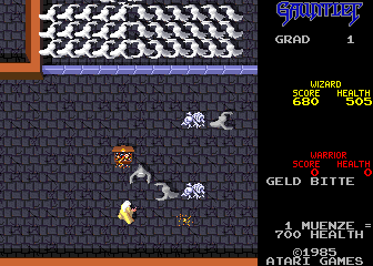 Gauntlet (2 Players, German, rev 4) Screenshot