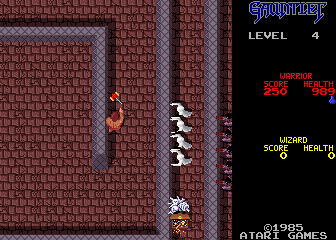 Gauntlet (2 Players, Japanese, rev 5) Screenshot