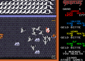 Gauntlet (German, rev 10) Screenshot