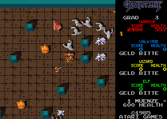 Gauntlet (German, rev 8) Screenshot