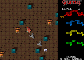 Gauntlet (Japanese, rev 13) Screenshot