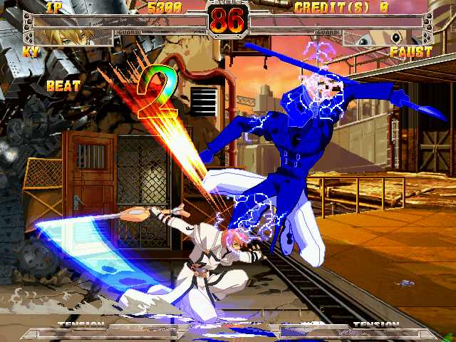 Guilty Gear X ver. 1.5 Screenshot