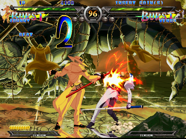Guilty Gear XX (GDL-0011) Screenshot