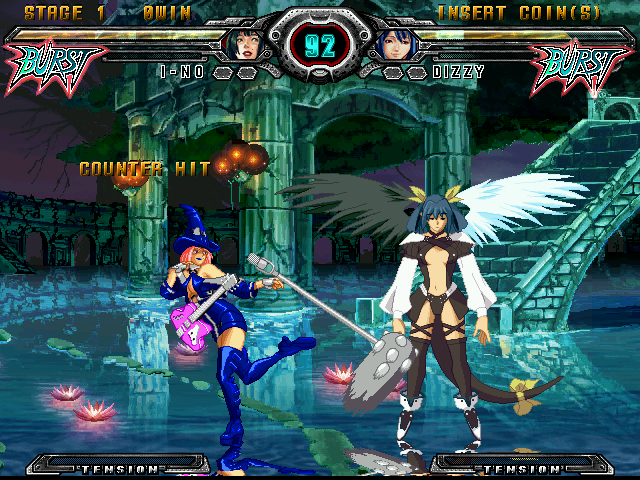 Guilty Gear XX Accent Core (Japan) (GDL-0041) Screenshot