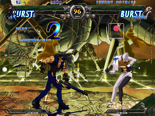 Guilty Gear XX #Reload (Japan, Rev A) (GDL-0019A) Screenshot