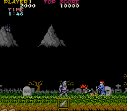 Ghosts'n Goblins (World? set 1) Screenshot