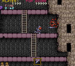 Ghosts'n Goblins (bootleg with Cross) Screenshot