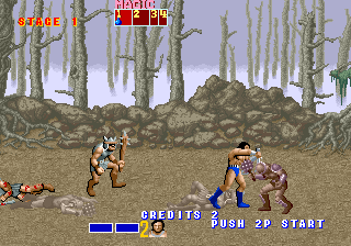 Golden Axe (set 6, US) (8751 317-123A) Screenshot