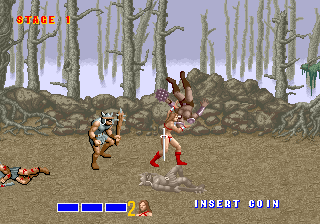 Golden Axe (set 1, World) (FD1094 317-0110) Screenshot