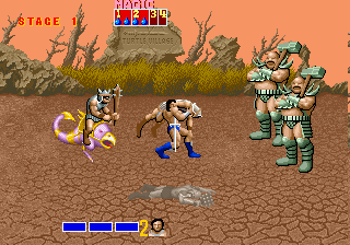 Golden Axe (encrypted bootleg) Screenshot