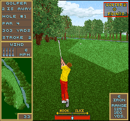 Golden Par Golf (Joystick, V1.1) Screenshot
