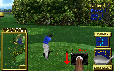 Golden Tee 2K Tournament (v5.00) Screenshot