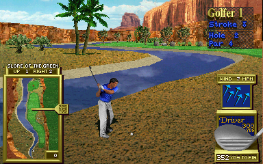 Golden Tee 3D Golf (v1.4) Screenshot