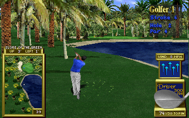 Golden Tee '98 (v1.10) Screenshot