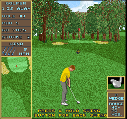 Golden Tee Golf II (Joystick, V1.0) Screenshot