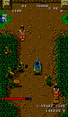 Guerrilla War (Joystick hack bootleg) Screenshot