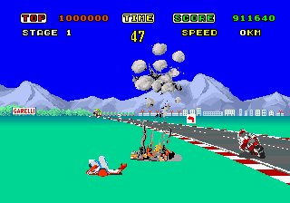 Hang-On Screenshot