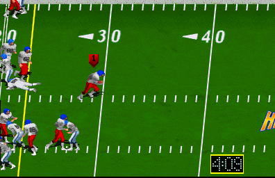 High Impact Football (rev LA2 12/26/90) Screenshot