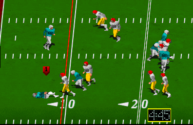 High Impact Football (rev LA3 12/27/90) Screenshot