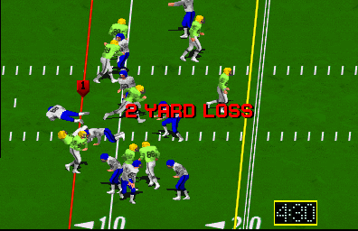 High Impact Football (rev LA4 02/04/91) Screenshot
