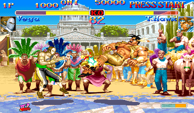 Hyper Street Fighter II: The Anniversary Edition (Asia 040202) Screenshot