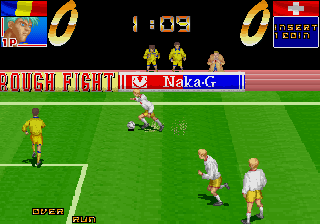 Hat Trick Hero '94 (Ver 2.2A 1994/05/26) Screenshot
