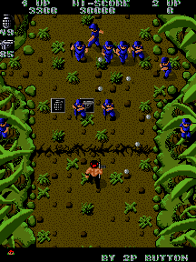 Ikari Warriors (US JAMMA) Screenshot