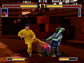 Jackie Chan in Fists of Fire Screenshot