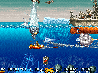 Kaitei Daisensou (Japan) Screenshot
