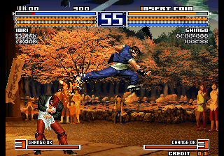 The King of Fighters 2003 (Japan, JAMMA PCB) Screenshot